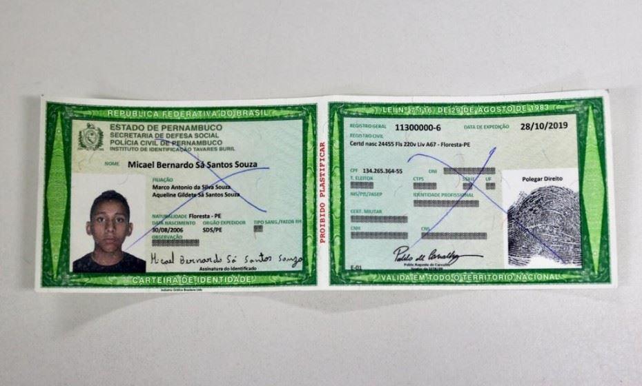 pernambuco já oferece nova carteira de identidade