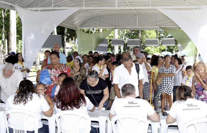 dia de ação de graças é celebrado no recife