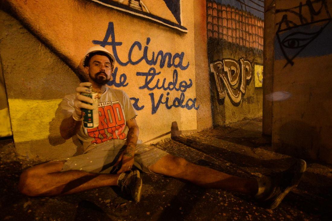 telas em vez de muros, o grafite durante a pandemia
