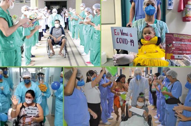 os pró-saúde - hospitais gerenciados pela associação somam mais de 1.000 pacientes recuperados pelo novo coronavírus