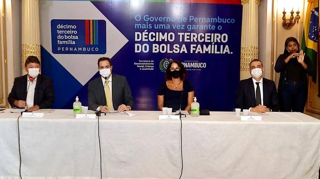 pernambuco anuncia o 13º do bolsa família e divulga calendário