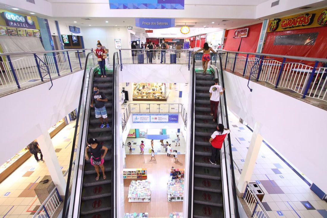setor de shoppings centers desacelerou em 2020 por causa da pandemia