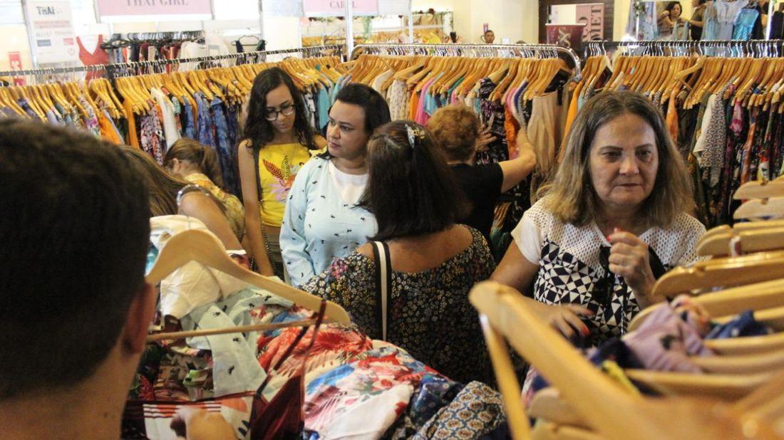Feira de moda e negócios no Recife